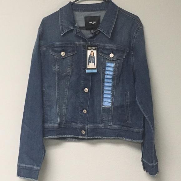 Select color /& size Nine West Sarah Denim Jacket